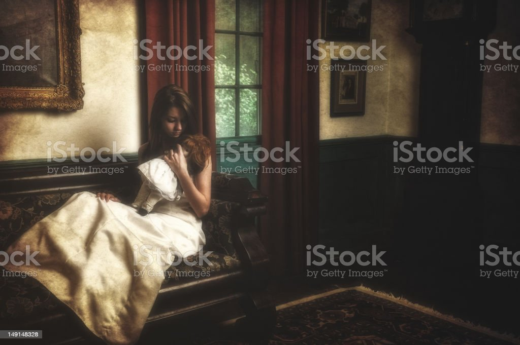 Isolated and Alone royalty-free stock photo