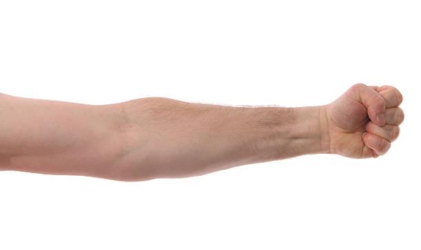 絶縁腕、拳 ストックフォト