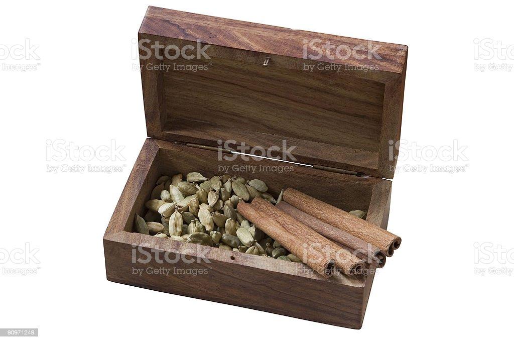 Isolated aromatic box royalty-free stock photo