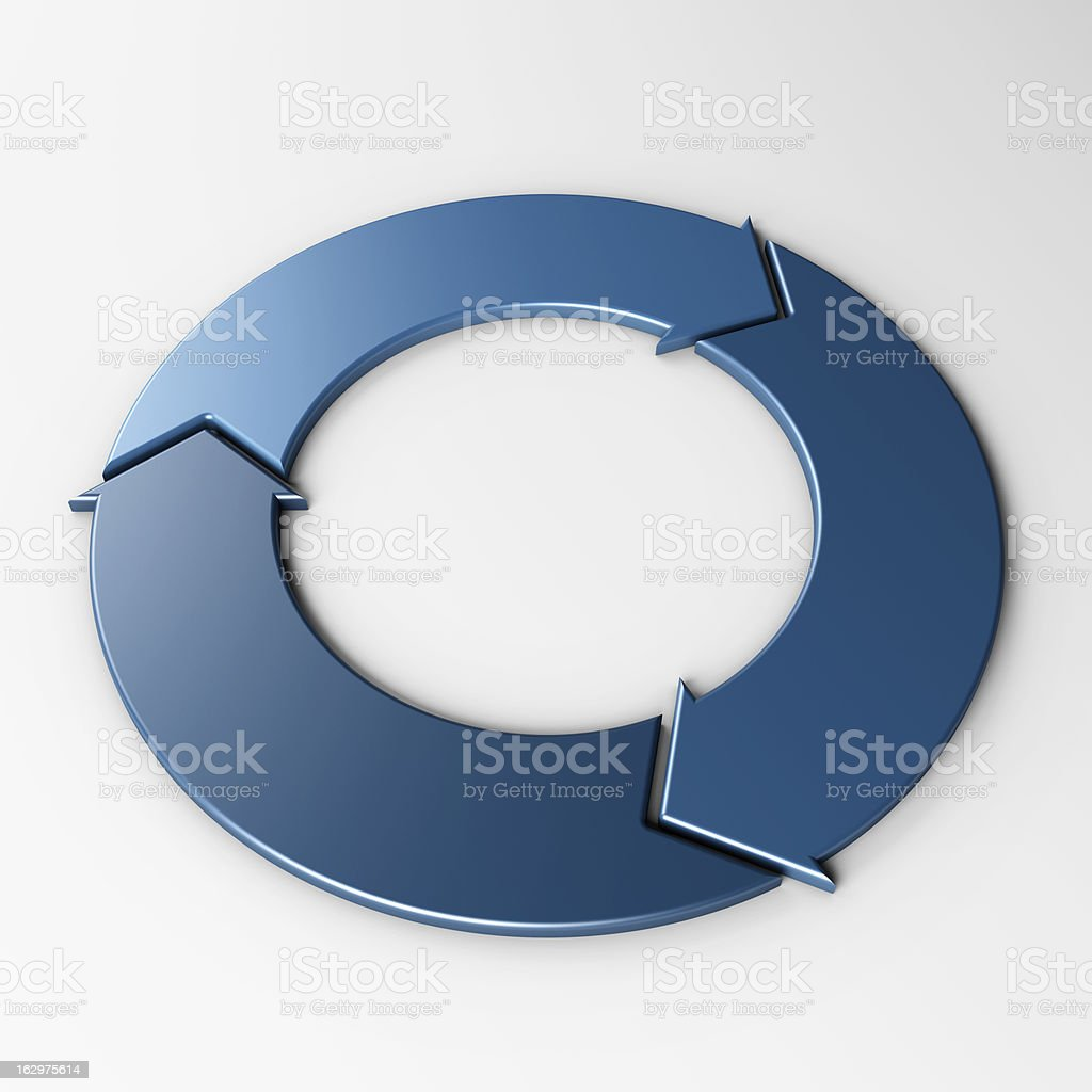 isolated arrow to place concepts stock photo