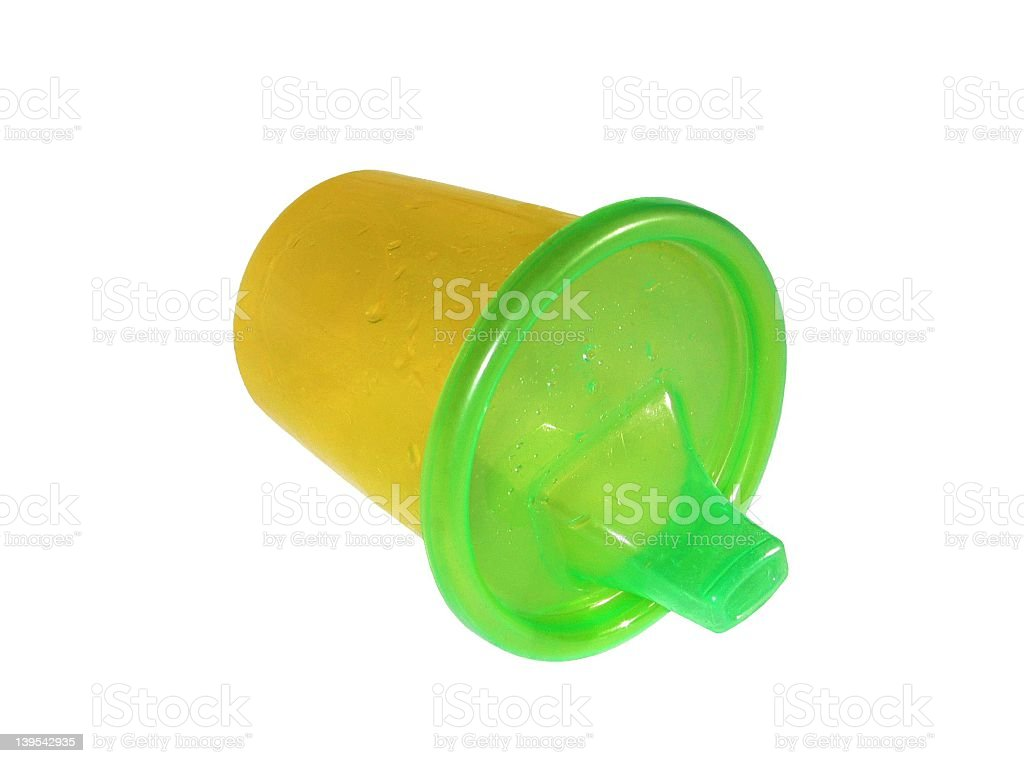 Isolated Baby Sip Cup stock photo