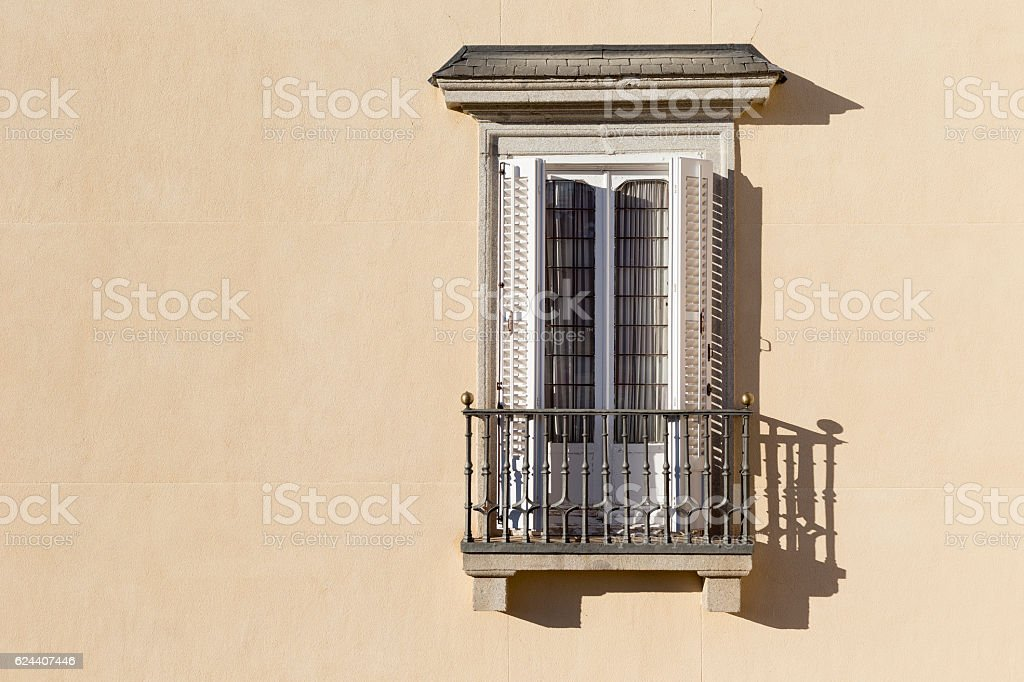 Isolated Balcony - foto de stock
