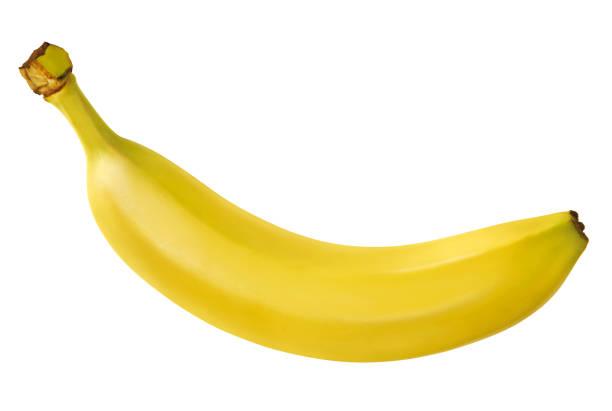 Isolated banana single ripe banana banana stock pictures, royalty-free photos & images