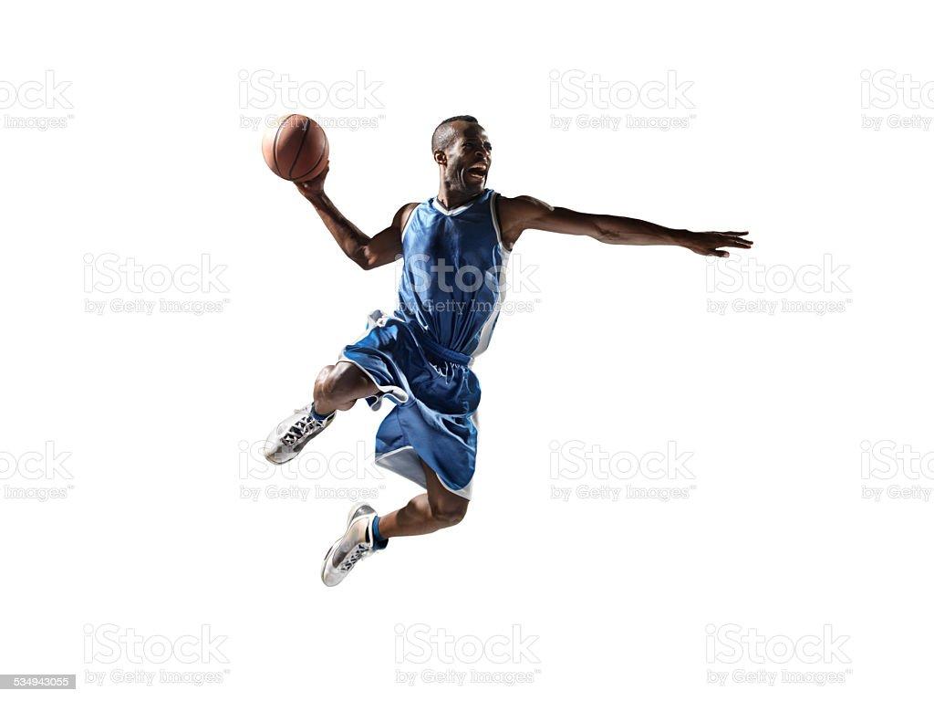 Pusta basketball player - Zbiór zdjęć royalty-free (2015)