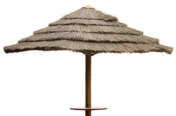 parasol en paille photos et images libres de droits istock. Black Bedroom Furniture Sets. Home Design Ideas