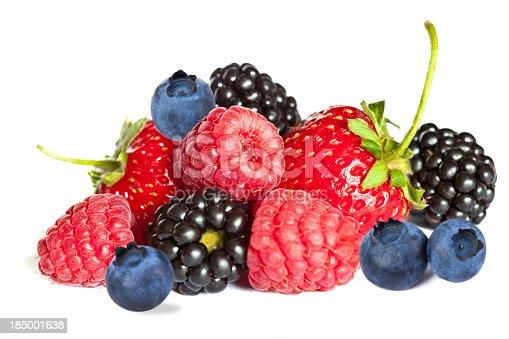 182187173 istock photo Isolated berries 185001638