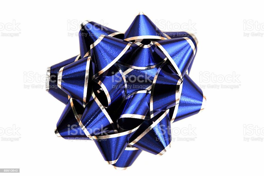 ribbon aislado azul foto de stock libre de derechos