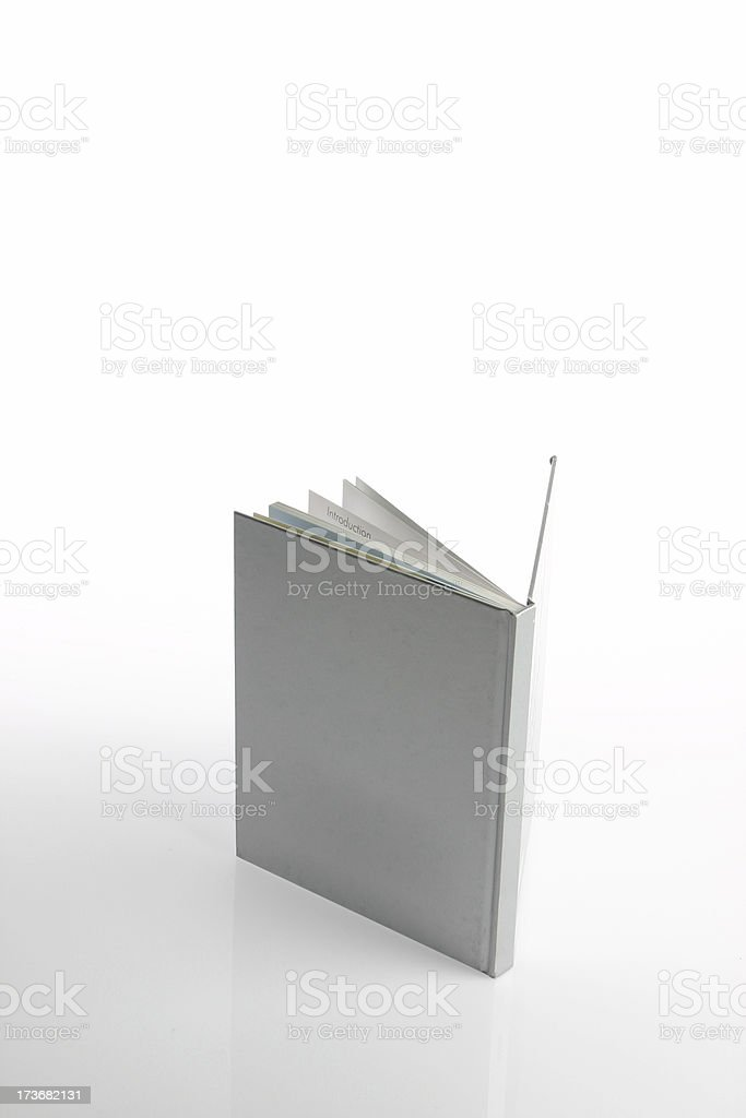 Isolated book royalty-free stock photo