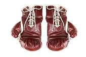 Isolated Boxing Gloves