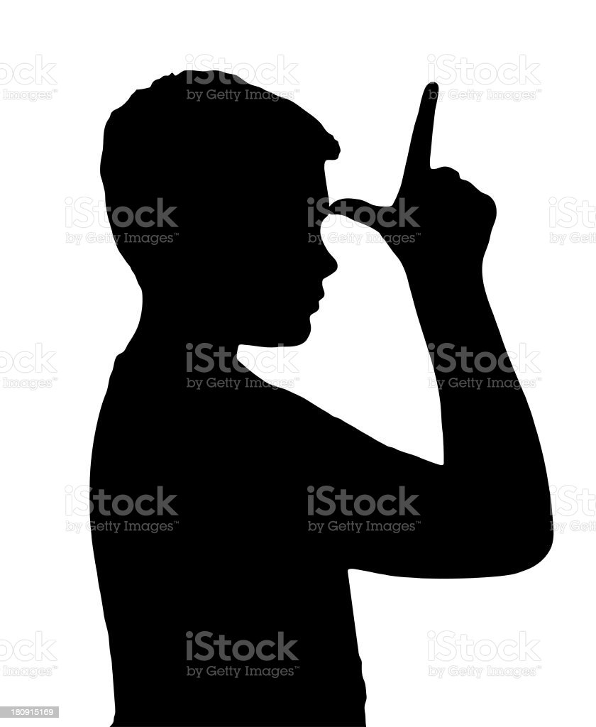 Isolated Boy Child Gesture Showing Loser royalty-free stock photo