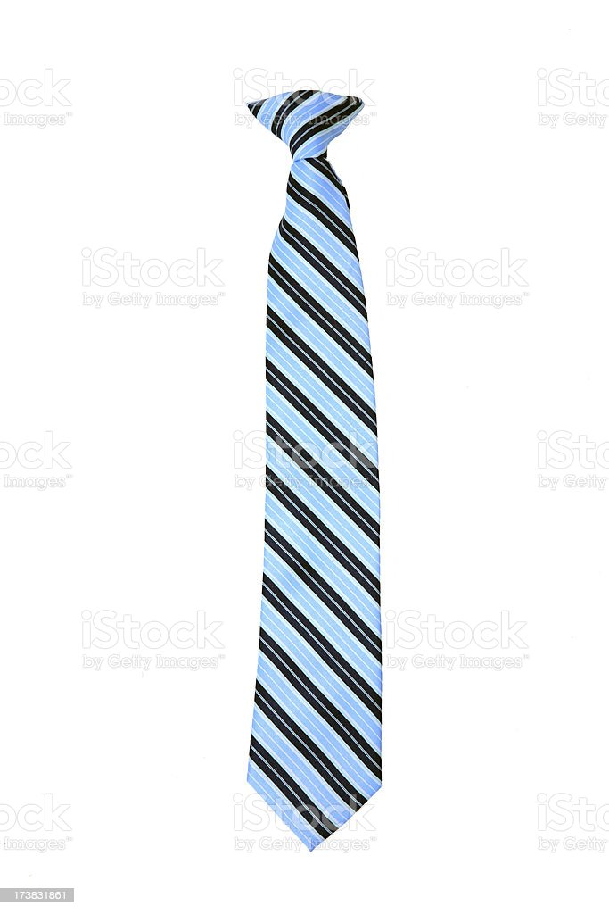 Isolated Boys Clip-On Tie royalty-free stock photo