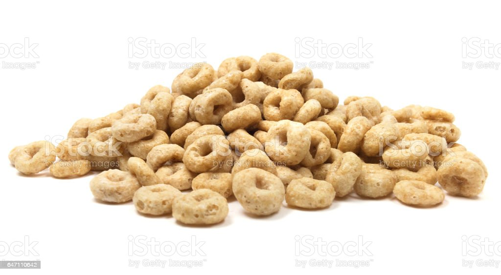 Isolated Breakfast Cereal stock photo