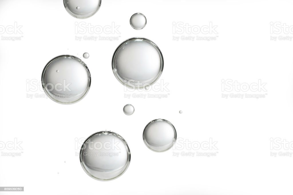 Isolated bubbles stock photo