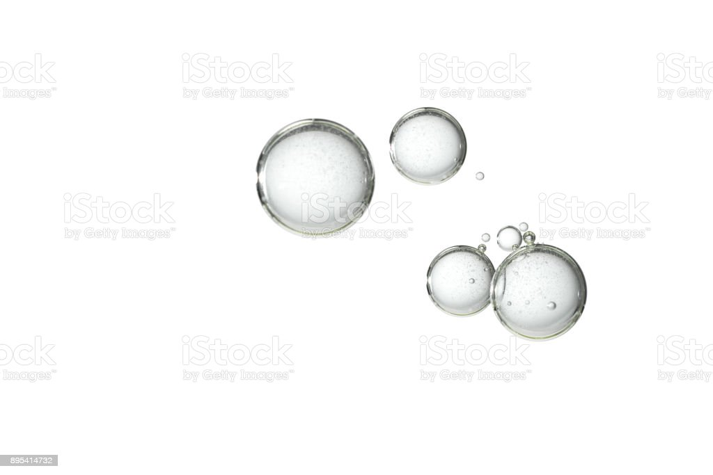 Isolated bubbles royalty-free stock photo