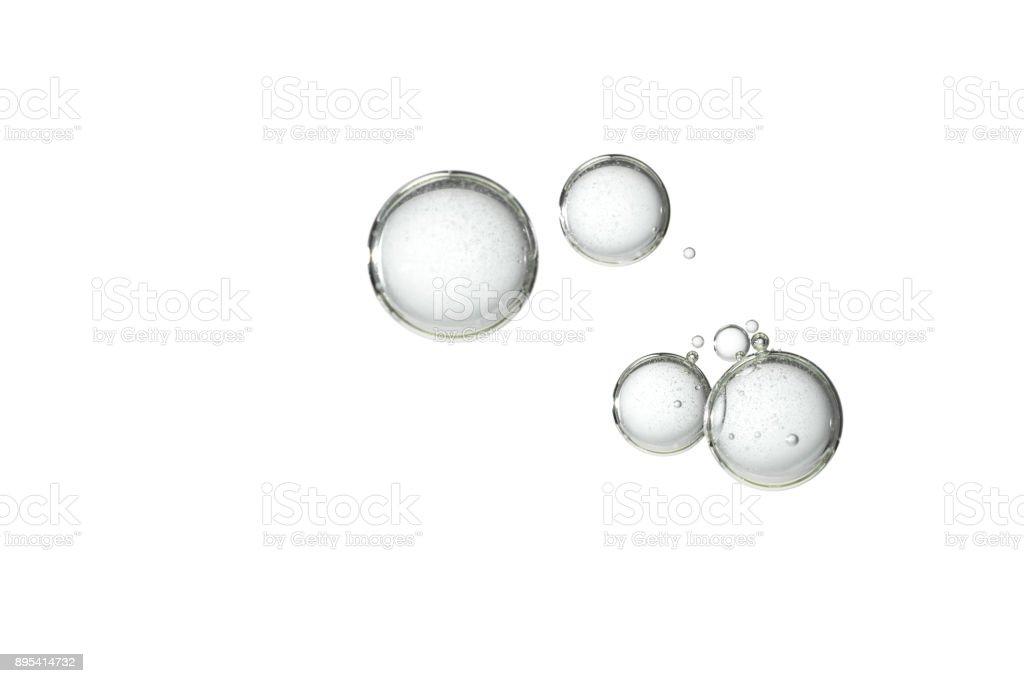 Isolated bubbles stock photo