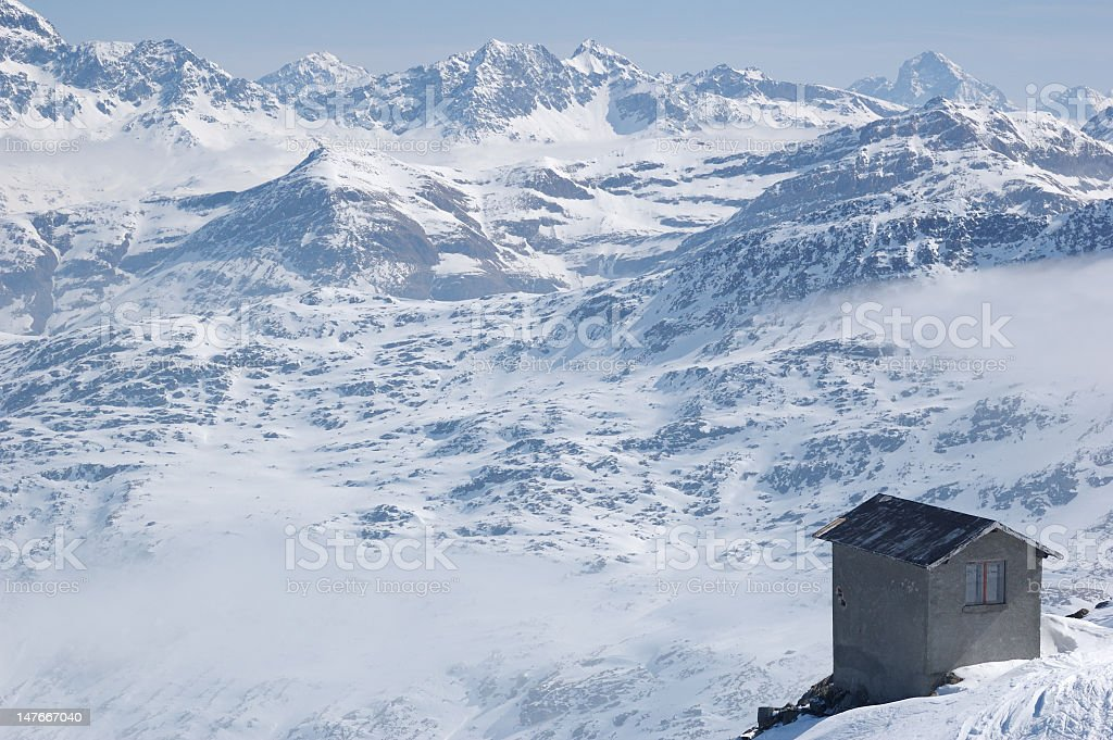 Isolated building royalty-free stock photo