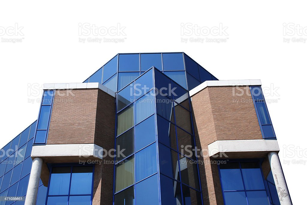 isolated building stock photo