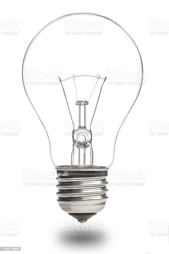 Isolated bulb royalty-free stock photo