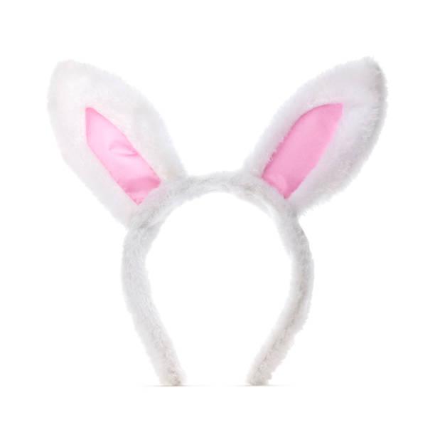 Isolated Bunny Ears stock photo
