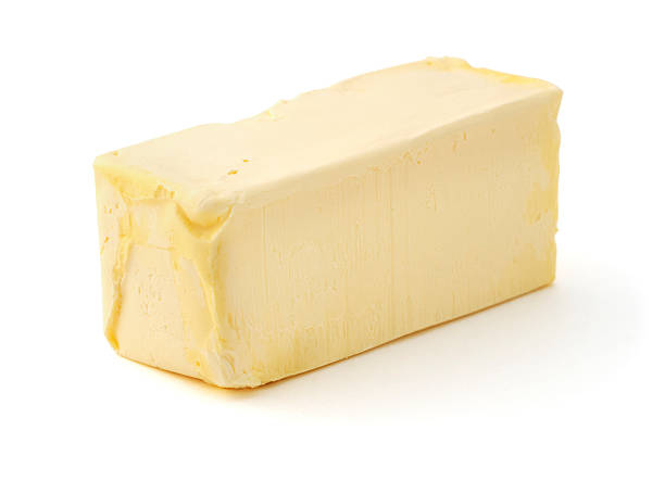 Isolated Butter Stick stock photo