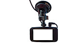 Isolated camera in car  a white  background with clipping path.