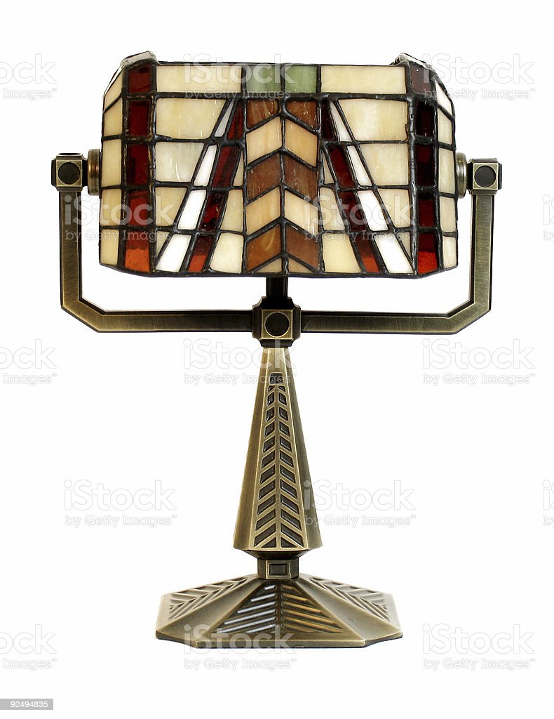 Isolated Candle Lamp royalty-free stock photo