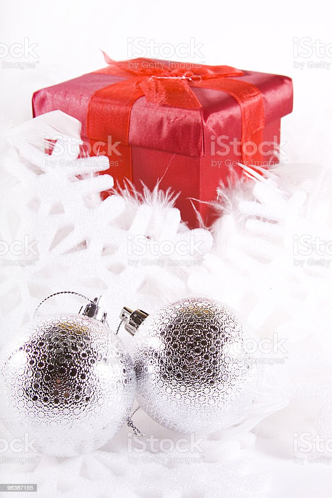 Isolated Christmas Background royalty-free stock photo