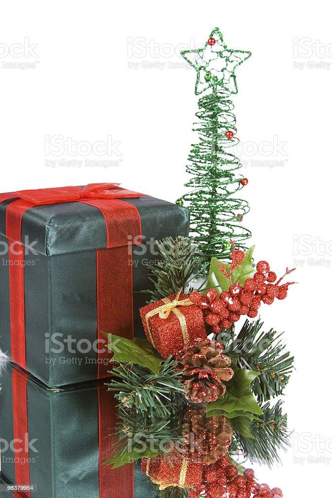 Isolato sfondo di Natale foto stock royalty-free