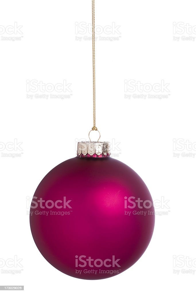 Isolated Christmas Balls (XXL) royalty-free stock photo