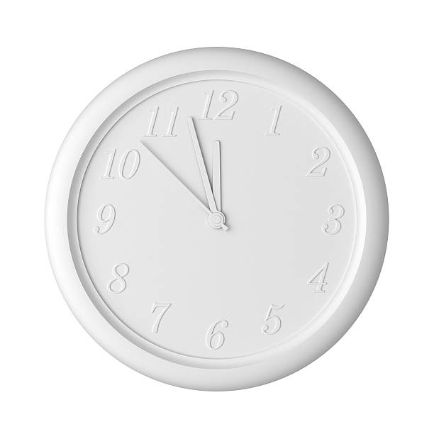 Isolated Clock stock photo