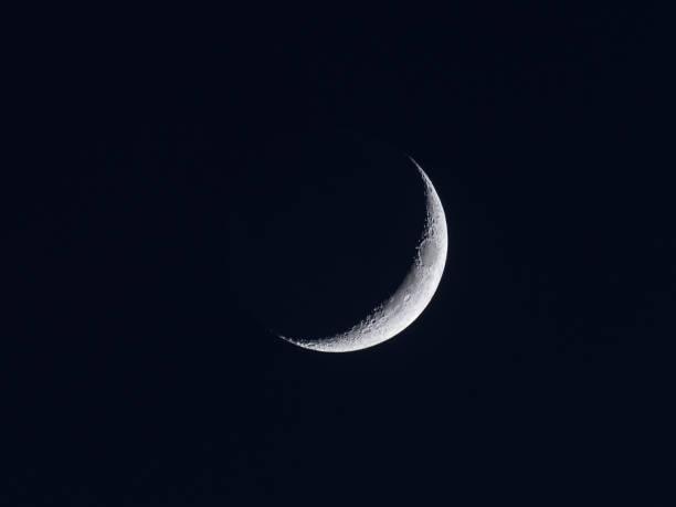 孤立的月球特寫圖像檔