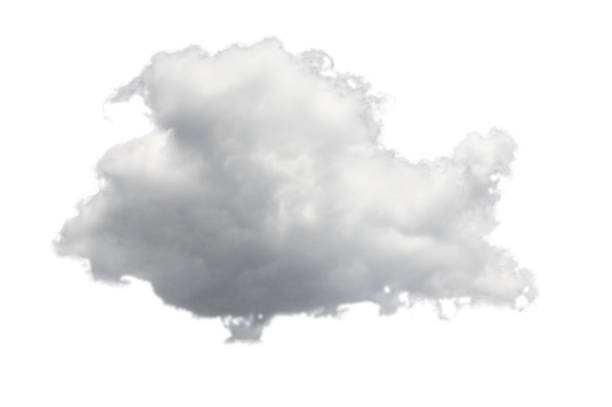 isolated cloud for computing concept - clouds stock photos and pictures