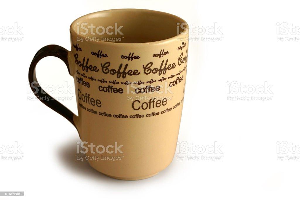 Isolated Coffee Mug royalty-free stock photo