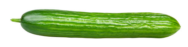 isolated cucumber - cucumber stock photos and pictures
