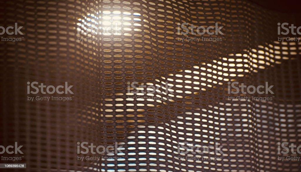 절연된 커튼 옷 독특한 배경 사진 스톡 사진