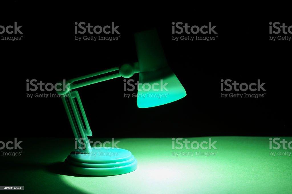 Isolated Desk lamp stock photo