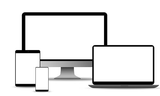 Isolated device screen for graphics presentations