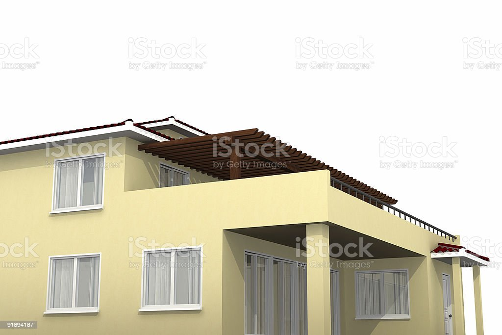 Isolated Estate 04 royalty-free stock photo