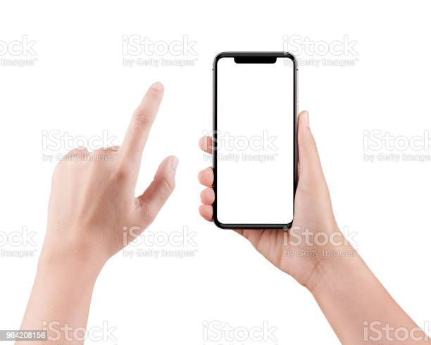 Isolated female hand holding a cellphone with clipping path woman on picture id964208156?b=1&k=6&m=964208156&s=612x612&h=ioyq4x2eufg0vu97stcihejig71mmp g9jyn qfsbhy=