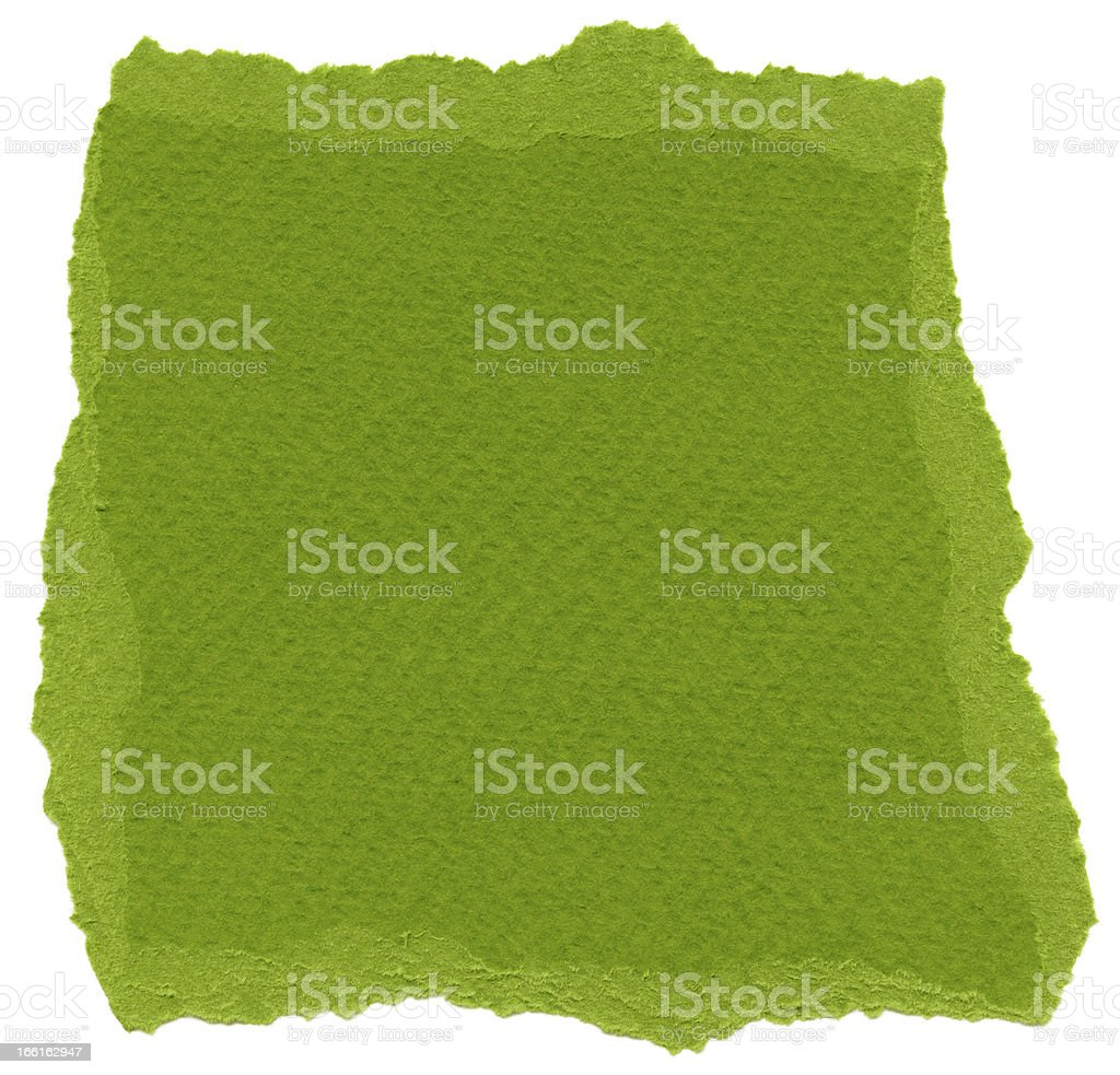 Isolated Fiber Paper Texture - Olive Drab XXXXL royalty-free stock photo