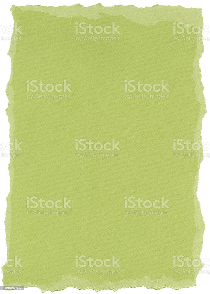Isolated Fiber Paper Texture - Pistachio XXXXL stock photo