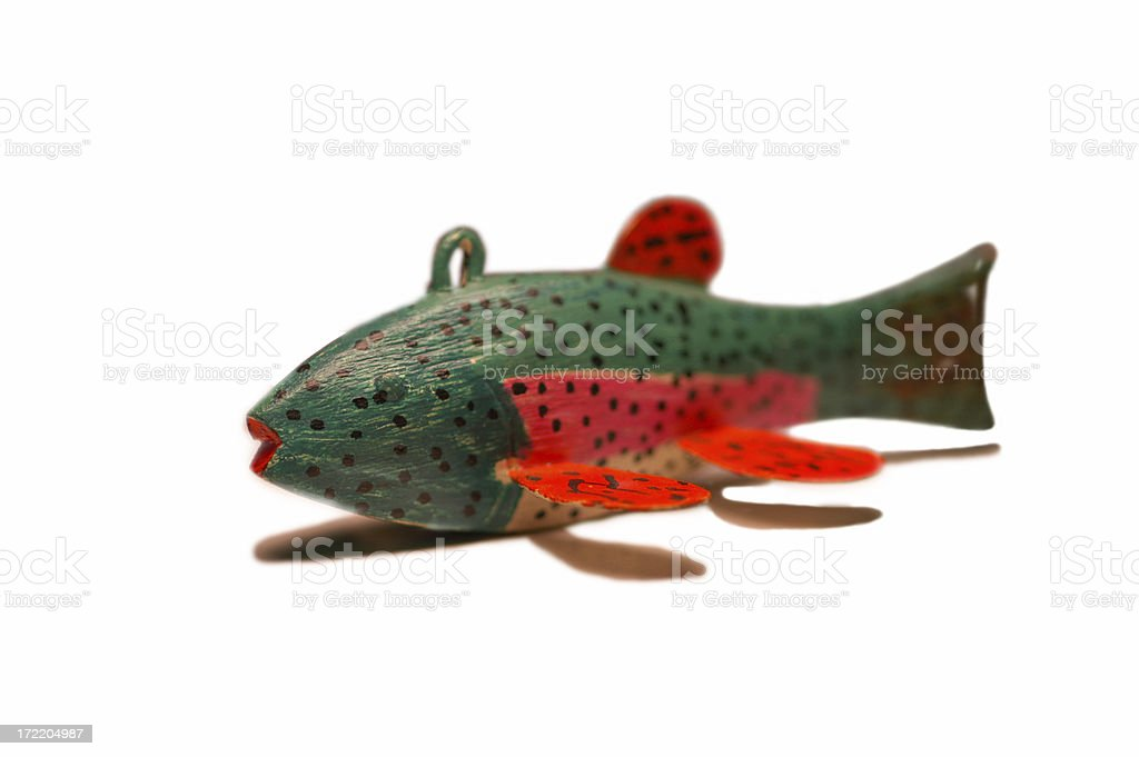 Isolated Fish Weight/Sinker royalty-free stock photo