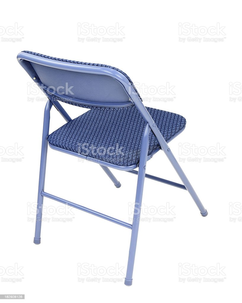 Isolated Folding Chair stock photo