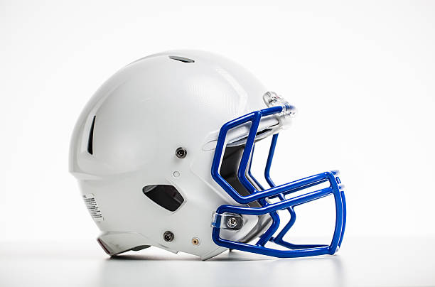 Isolierte football Helm – Foto