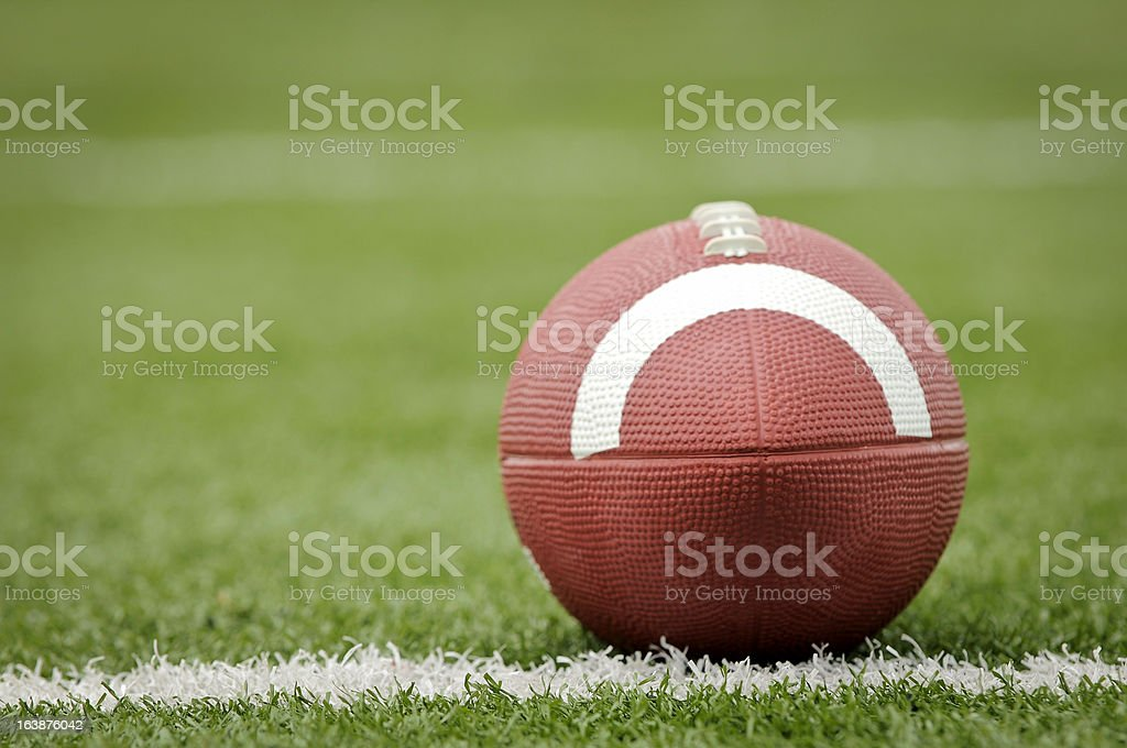 Isolated Football stock photo