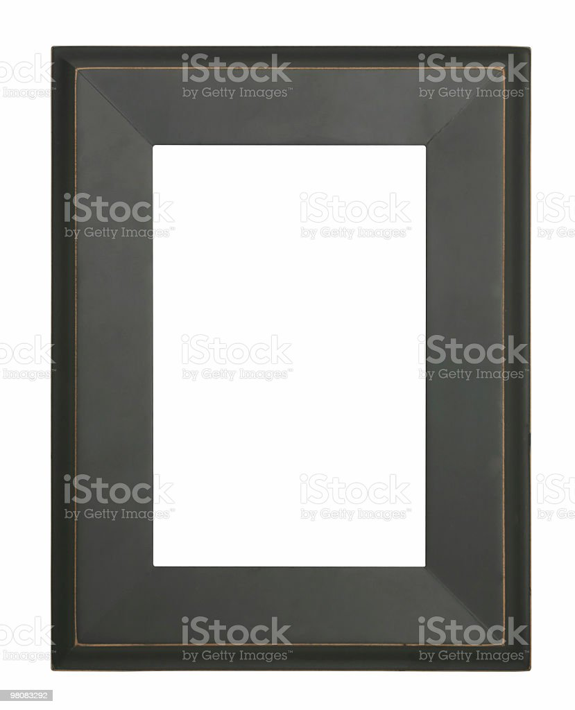 Isolated frame royalty-free stock photo