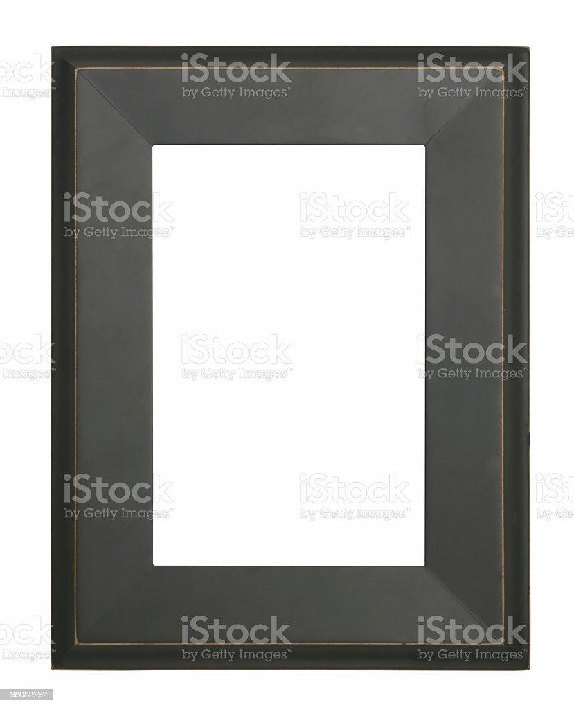 Telaio isolato foto stock royalty-free