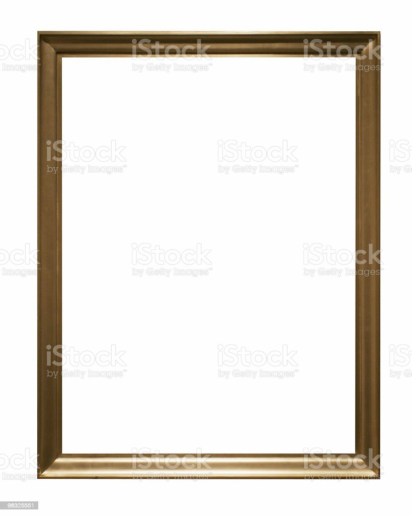 Isolated frame to use in your design royalty-free stock photo