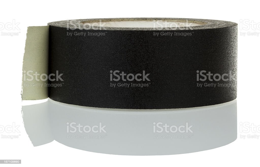 Isolated Gaffer Tape royalty-free stock photo