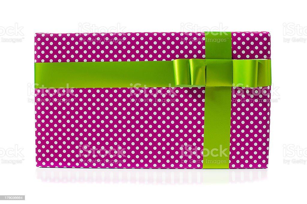 Isolated Gift stock photo
